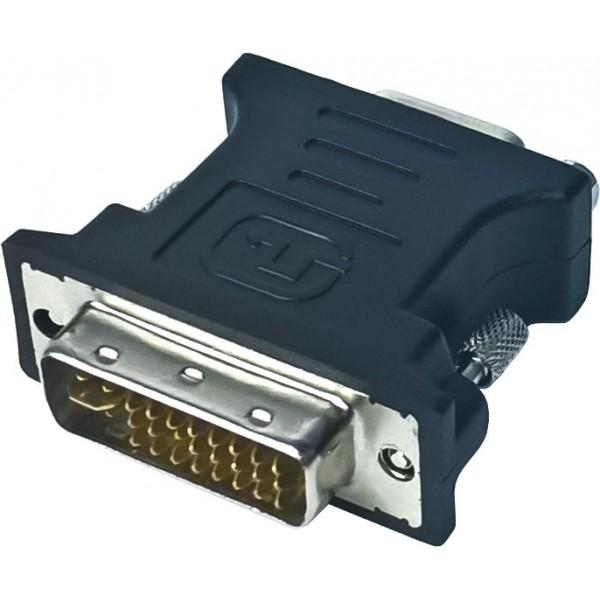 Adapter Przejściówka DVI-I - D-SUB (VGA)
