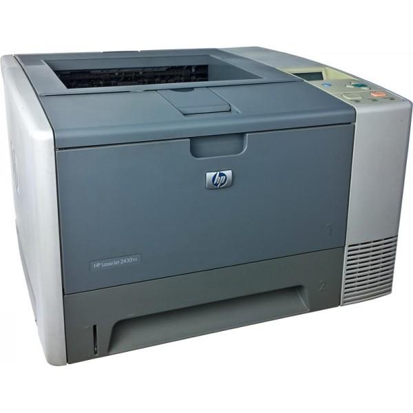 Drukarka laserowa HP LaserJet 2430tn, LAN, 33 strony/min.