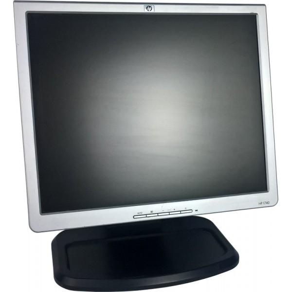 Monitor HP L1740 17 cali VGA DVI USB