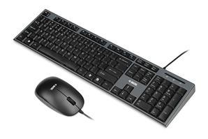 Zestaw przewodowy klawiatura   mysz iBOX Desktop Kit-25022