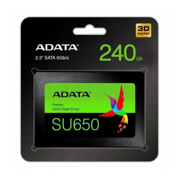 Dysk SSD ADATA Ultimate SU650 240GB 520/450MB/s