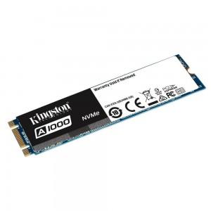 Dysk SSD Kingston A1000 480GB M.2 2280 PCIe NVMe (1500/900 MB/s) 3D NAND, TLC-6701