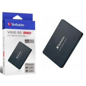 "Dysk SSD wewnętrzny Verbatim VI500 S3 480GB 2.5"" SATA III -6831"