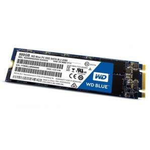 Dysk SSD WD Blue 500GB M.2 2280 (560/530 MB/s) WDS500G2B0B 3D NAND-6841