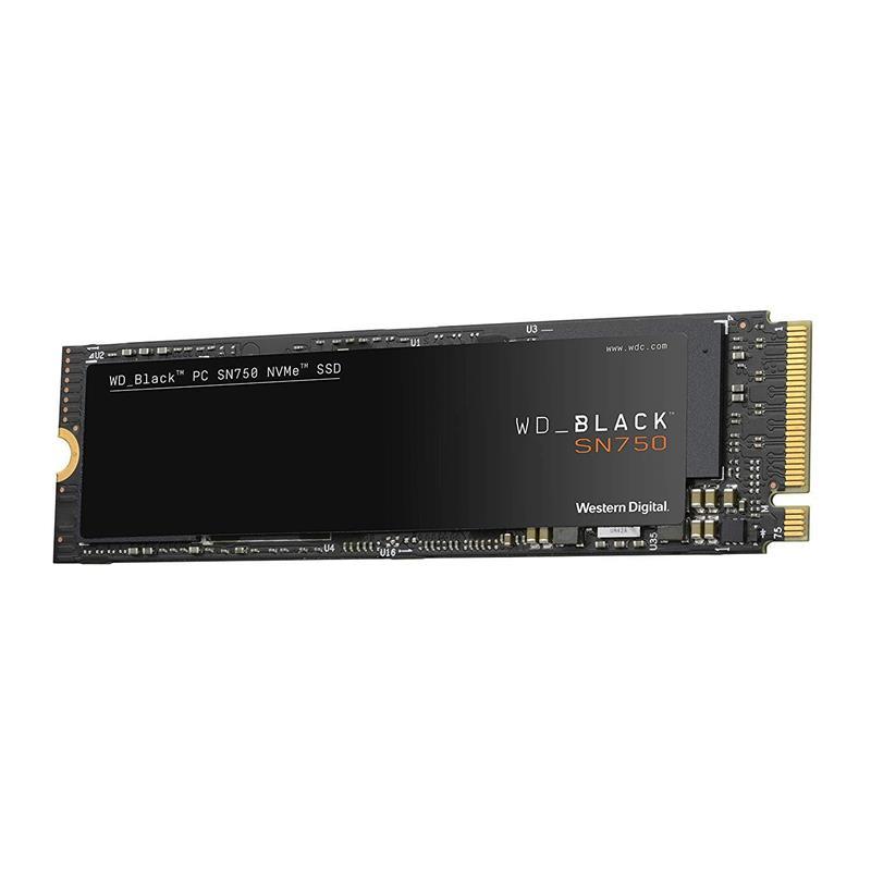 Dysk SSD WD Black SN750 1TB M.2 2280 PCIe NVMe (3470/3000 MB/s) WDS100T3X0C-6850