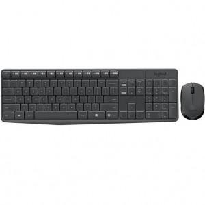 Zestaw bezprzewodowy klawiatura   mysz Logitech MK235 szary-25031