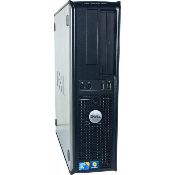 Komputer Dell Optiplex 380 Core2Duo E5700 3,0GHz 4GB 120GB SSD Windows 10