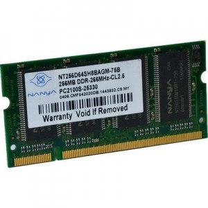 DDR 256MB SO-DIMM-336